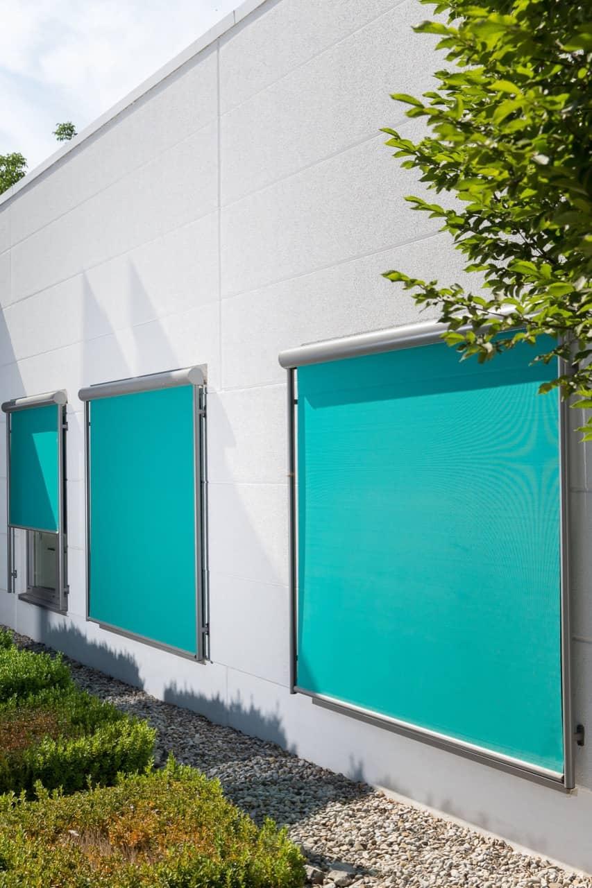 Fenster Fassadenmarkise